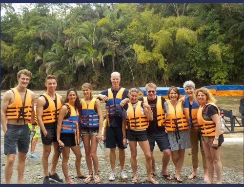 La Vieja river Rafting